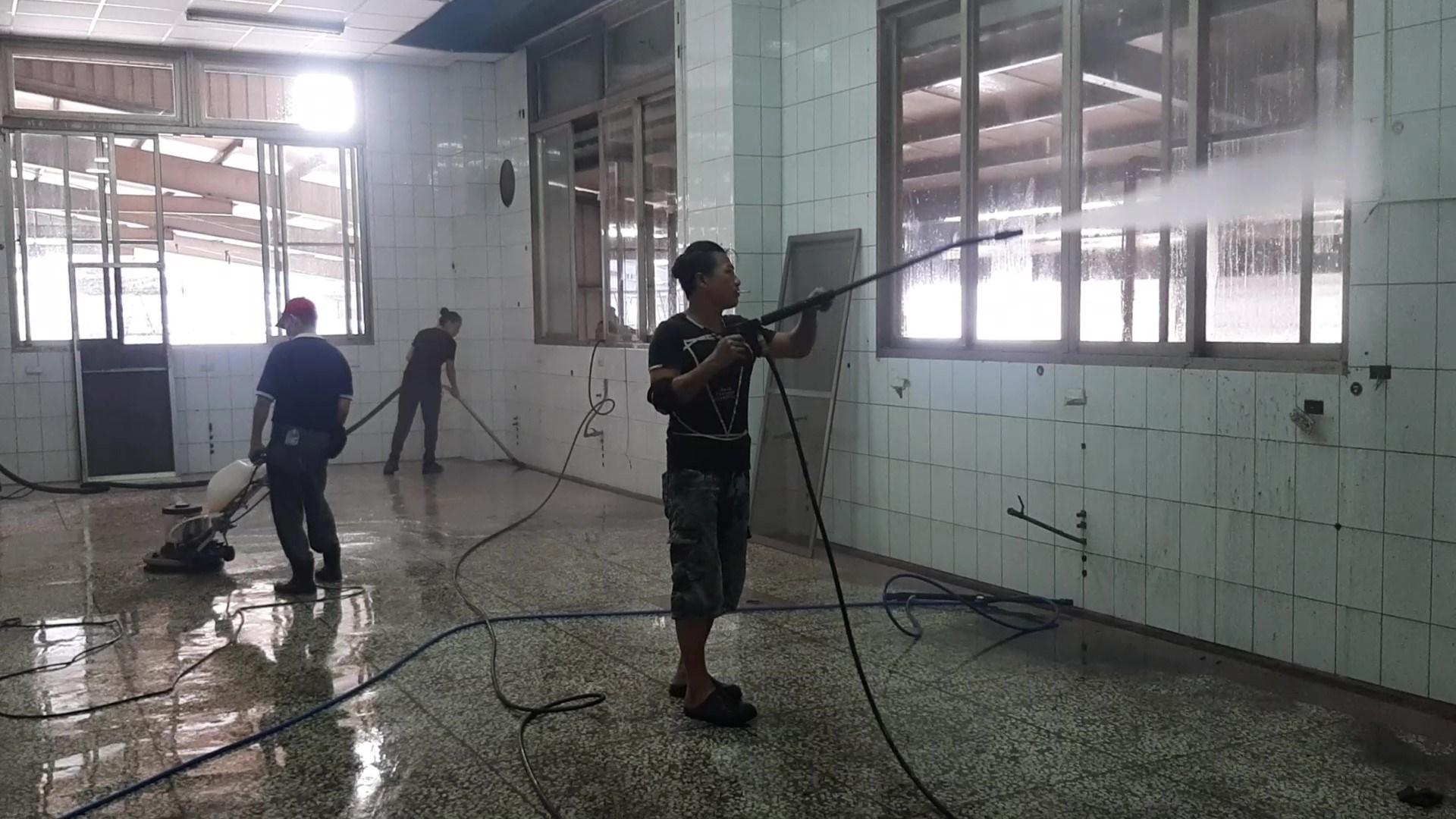廠房內部各種清潔項目